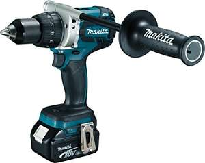 Perceuse-Visseuse Makita 125Nm + 2 batteries 18V 5Ah Li-Ion + Makpac Box