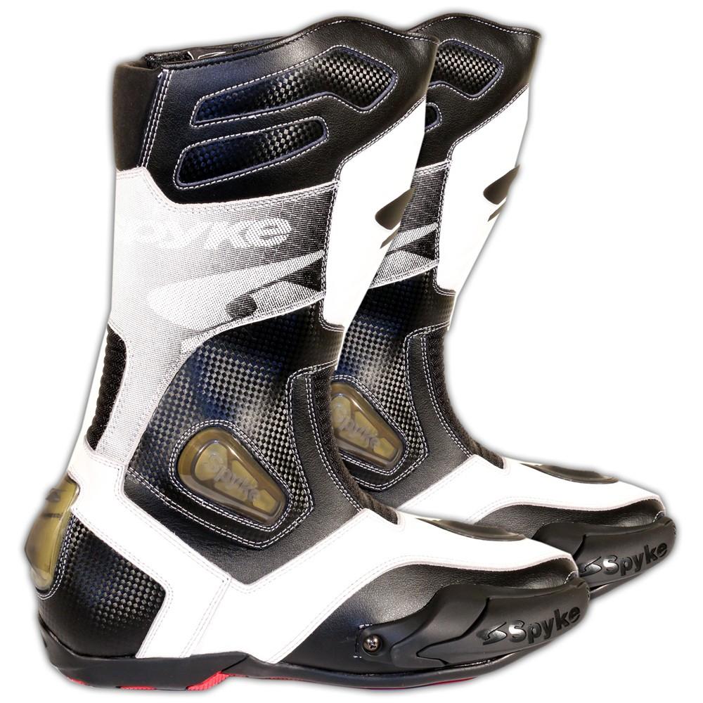 Bottes de Course Spyke Rocker WP  en Cuir - Coloris & Tailles au choix (maximo-moto.com)