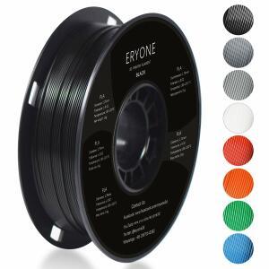 Filament Eryone PLA - 1.75mm 1kg - Couleur Noir (vendeur tiers)