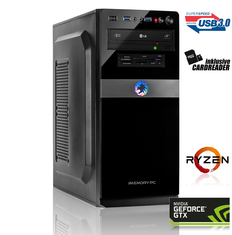 PC de Jeu Ryzen 5 2600, 8 Go DDR4, GTX 1660 6 Go, SSD 240 Go