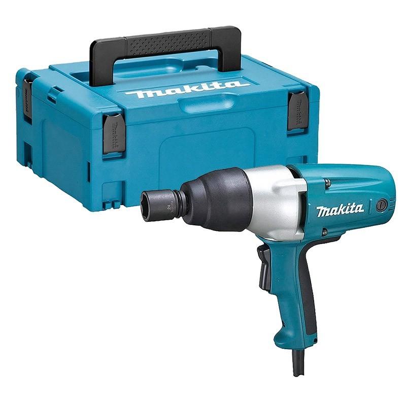 Sélection d'outils en promotion - Ex: Boulonneuse à choc filaire Makita TW0350J - 400W, 350Nm