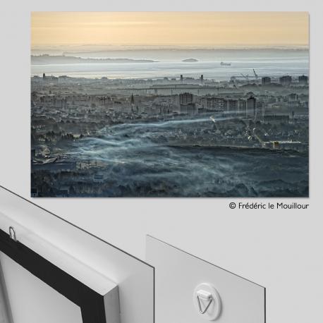 Tirage photo format 30 x 45 cm contrecollé sur alu Dibond gratuit (8.5€ de frais de port en sus)