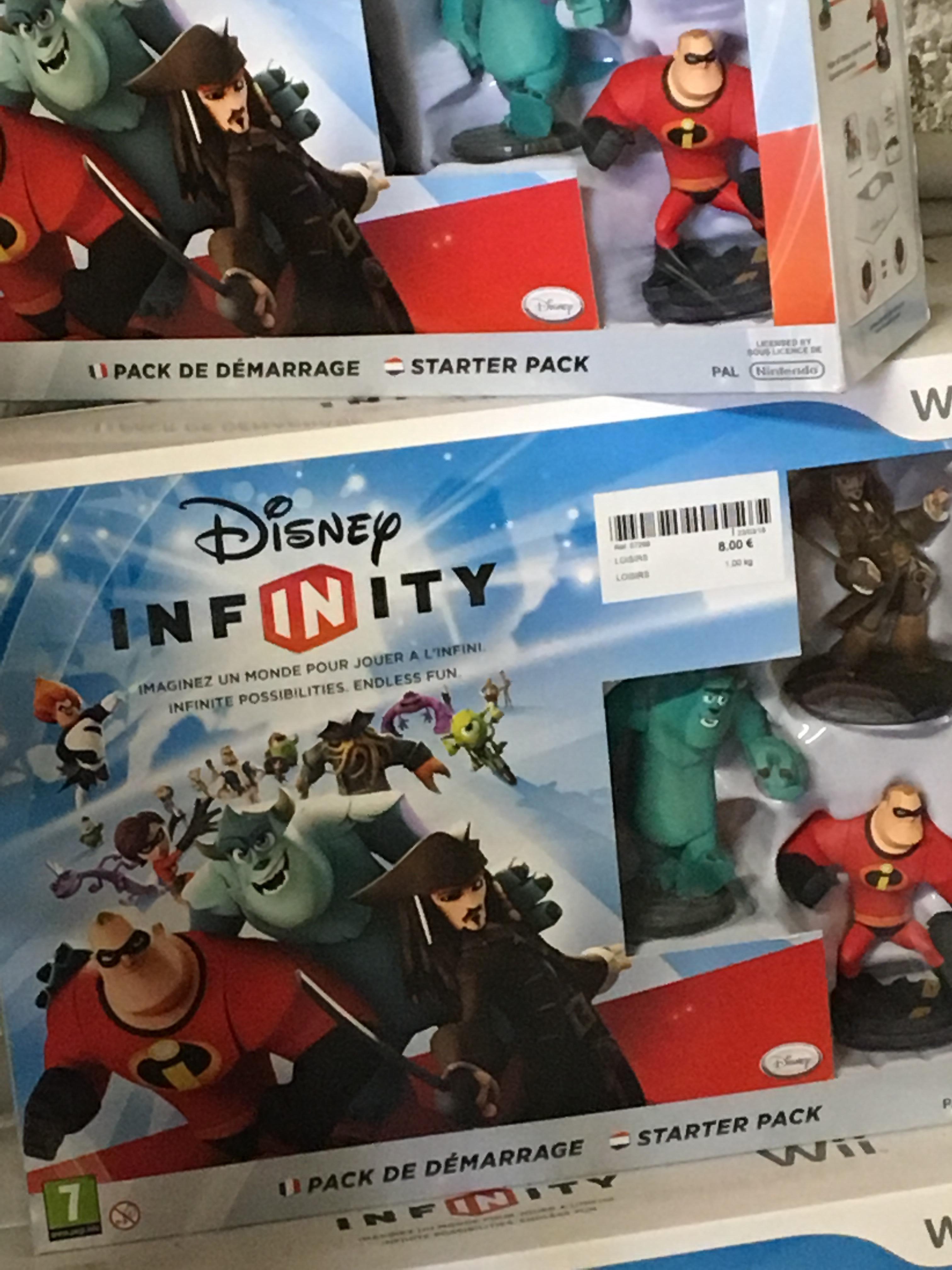 Pack de démarrage Disney Infinity sur Nintendo WII - La Recyclerie Drumettaz-Clarafond (73)