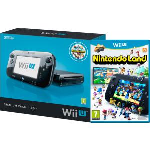 Wii U Premium 32 GO Nintendo Land noire