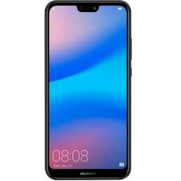 "Smartphone 5.84"" Huawei P20 lite - 4 Go de Ram, 64 Go Dual Sim Débloqué - Noir"