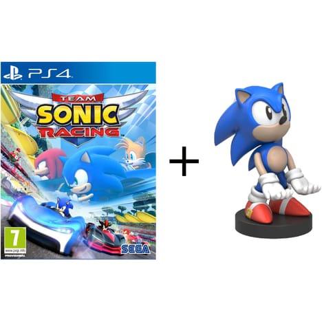 Jeu Sonic Team Racing sur Nintendo Switch, PS4 ou Xbox One + Figurine