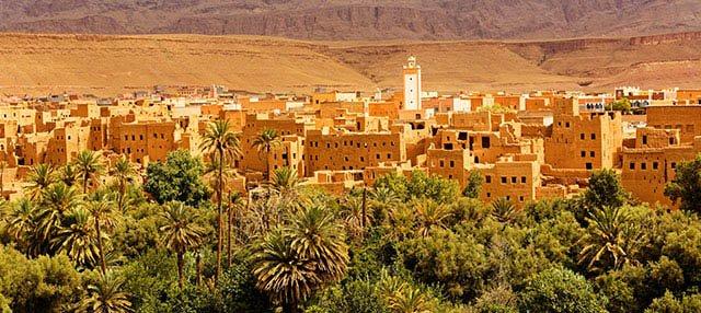 Sélection de Vols A/R Bordeaux Ouarzazate (Maroc) en Promotion - Ex: 25 au 28 Mai 2019