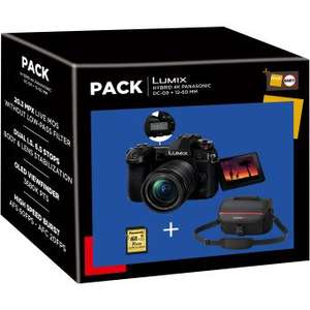 [Adhérents] Pack Panasonic Lumix G9 + Objectif 12-60 mm f/3,5-5,6 + Fourre-tout + Carte SDHC 16 Go (Via ODR 200€)