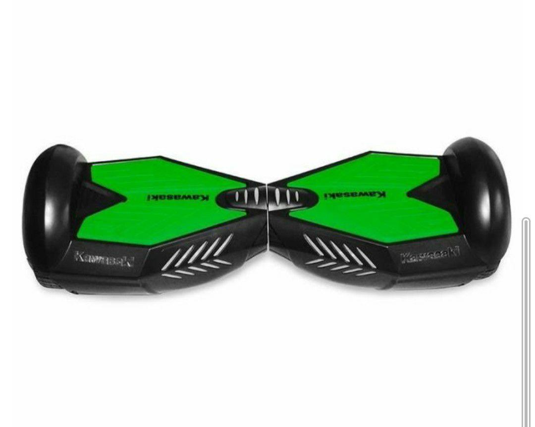 "Hoverboard 6.5"" électrique Kawasaki - Noir"