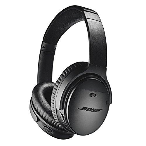 Casque audio sans-fil à réduction de bruit Bose QuietComfort QC35 II - Noir