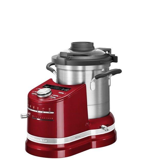 Robot cuiseur Kitchenaid Cook Processor Artisan 5KCF0104ECA/5 - Rouge