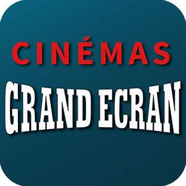 Place de cinéma à 4,60€ (hors exceptions) - Grand Ecran