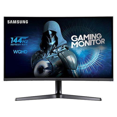 """Ecran PC LED incurvé 27"""" Samsung  LC27JG50QQUXEN - 2560 x 1440, 4ms, Dalle VA, 144Hz (267,79€ avec JACQUIE)"""