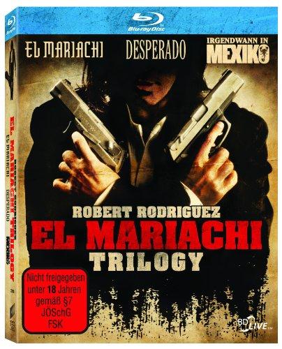 El Mariachi - La Trilogie en blu-ray (Import Allemand - VF incluse)