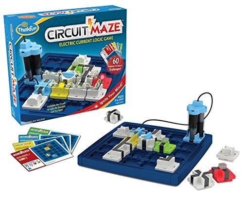 Jeu de réflexion Asmodee Circuit Maze