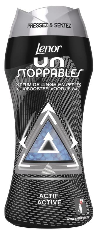 Flacon d'adoucissant / parfum de linge en perles Lenor UnStoppables - différents types, 210 g