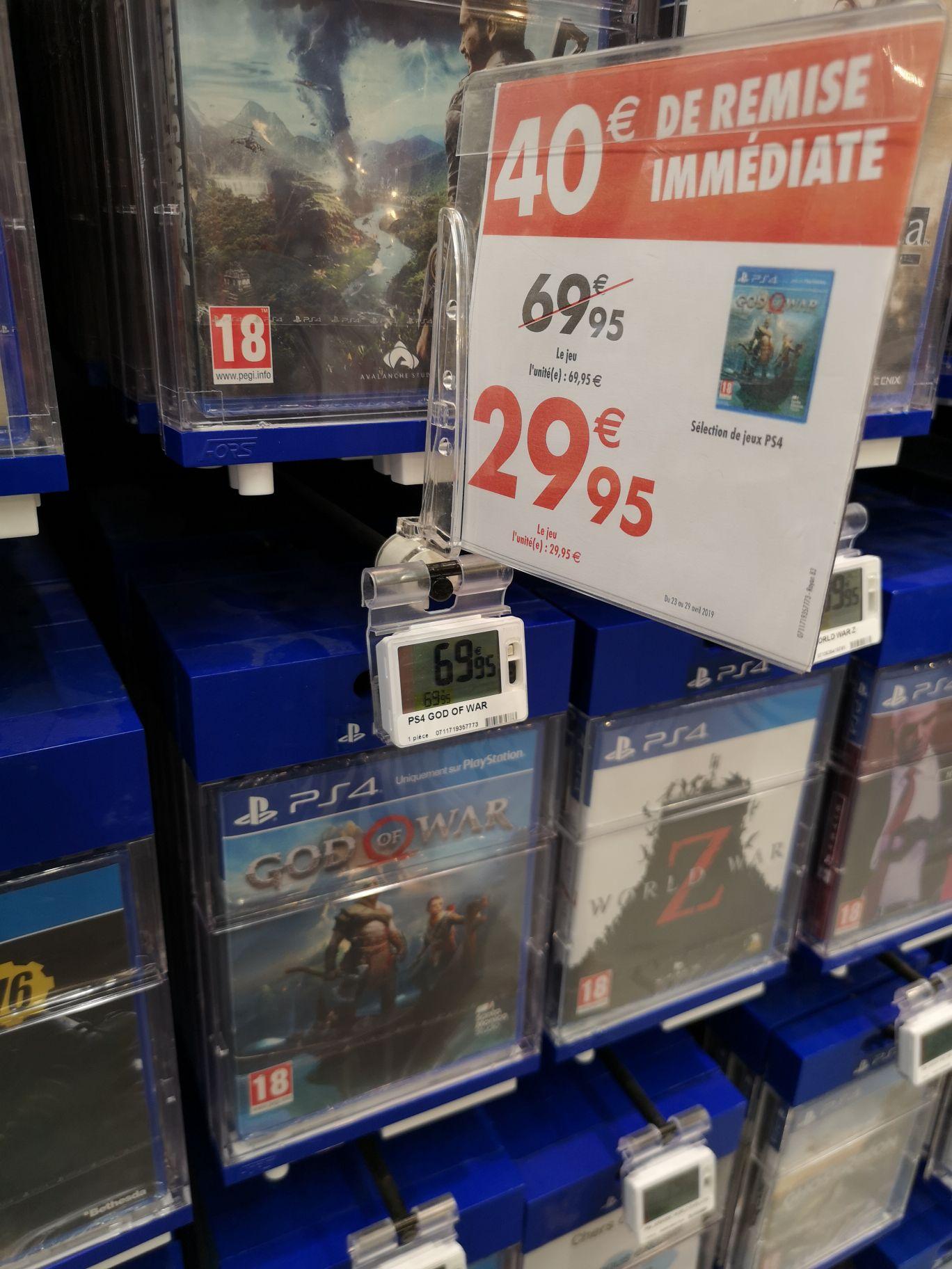 God of War sur PS4 - Les Ulis (91)