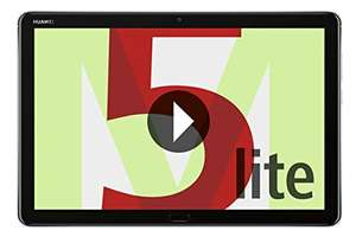 "Tablette 10.1"" Huawei M Lite -  Full HD, Kirin 659, 3 Go de RAM, 32 Go de mémoire"