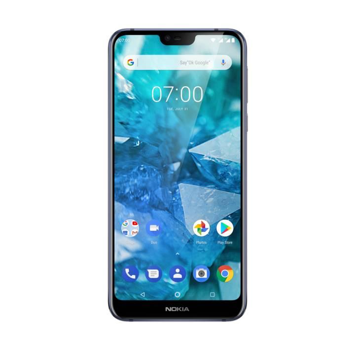 "Smartphone 5.84"" Nokia 7.1 - 32 Go, Double SIM, Bleu nuit (Frontaliers Suisse)"