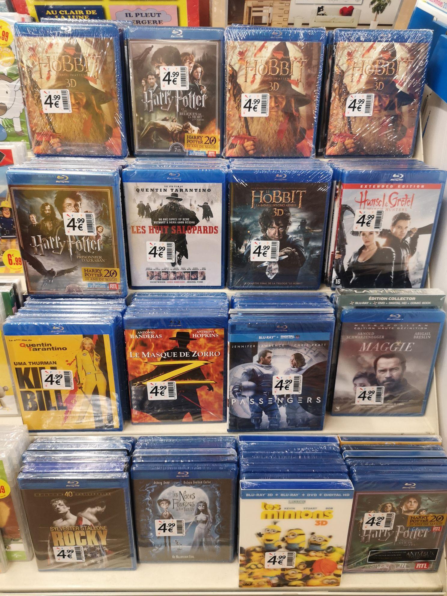 Sélection de Blu-ray à 4.99€ - 3 Fontaines (95)