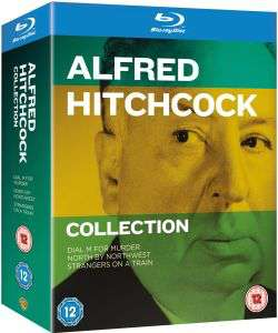 Coffret Blu-ray Alfred Hitchcock Collection - 3 Films