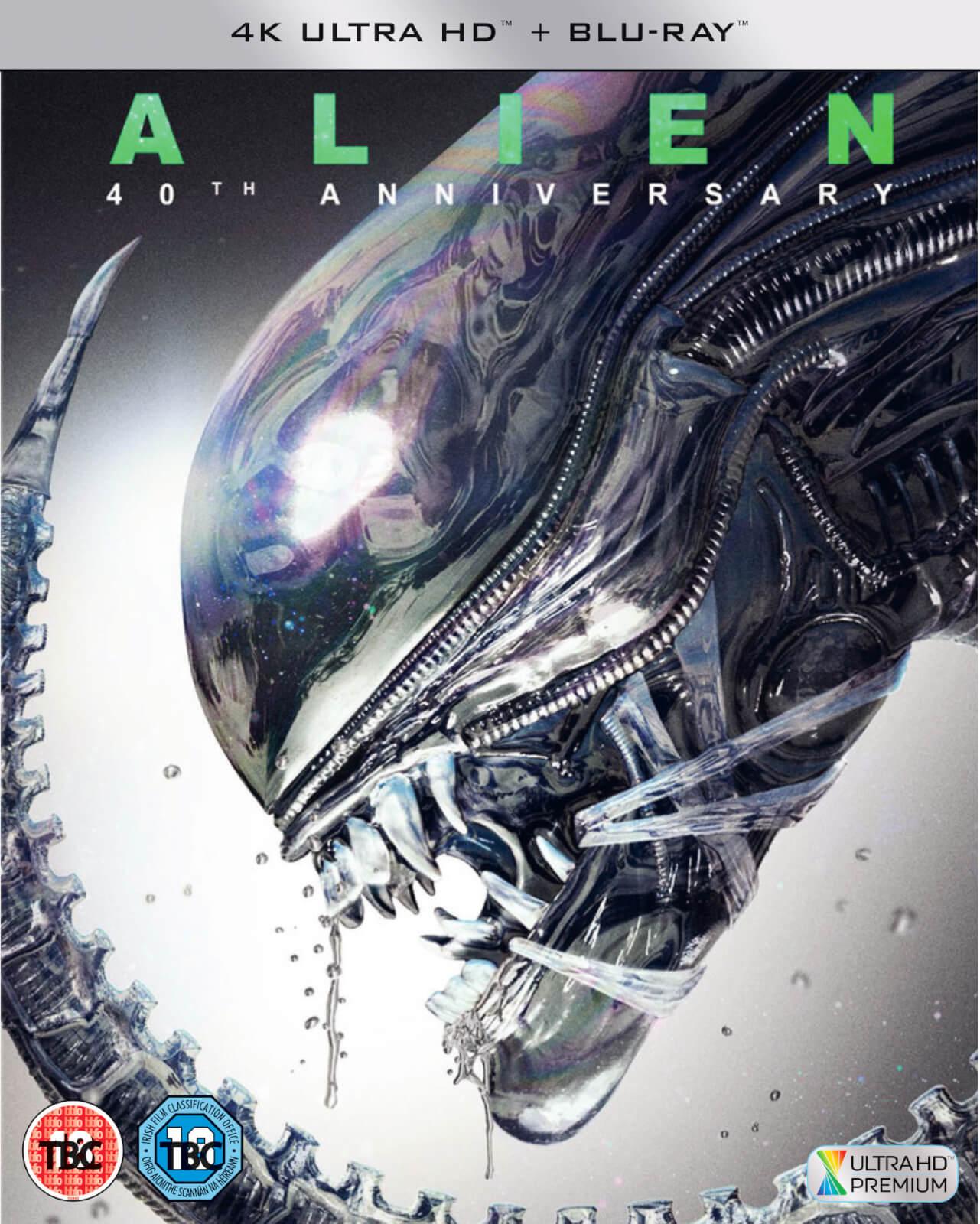 Blu-ray 4K Alien - Édition 40ème Anniversaire