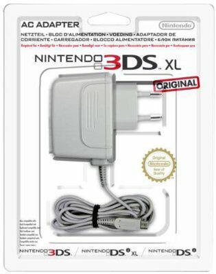 Bloc d'alimentation pour console Nintendo New 3DS/3DS/2DS