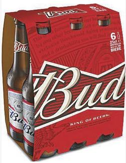 Pack de Bières Bud - 6 x 25cl (Via Quoty + BDR)