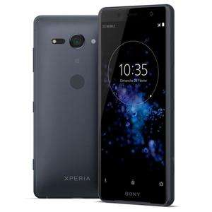 "Smartphone 5"" Sony Xperia XZ2 Compact - double-SIM, full HD+, SnapDragon 845, 4 Go de RAM, 64 Go, noir (via ODR de 50€)"