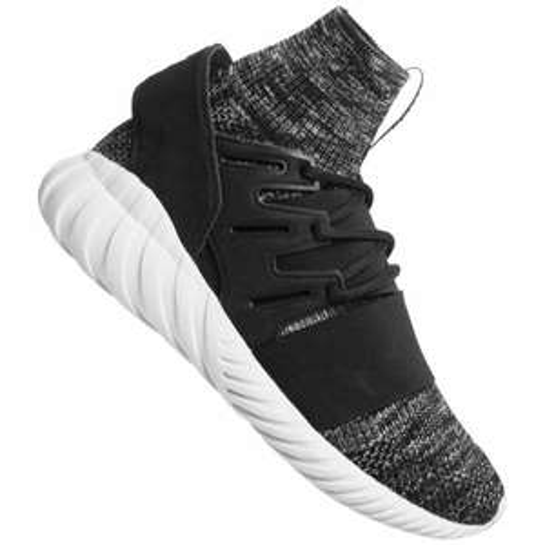 new product 6e634 b8aa5 Baskets adidas Tubular Doom PK - Gris Noir - Tailles du 40 au 46