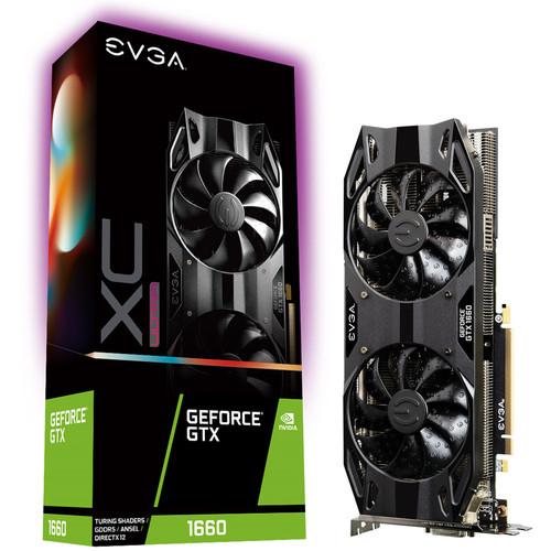 Carte graphique EVGA GeForce GTX 1660 XC Ultra Gaming - 6 Go + Bundle Fortnite