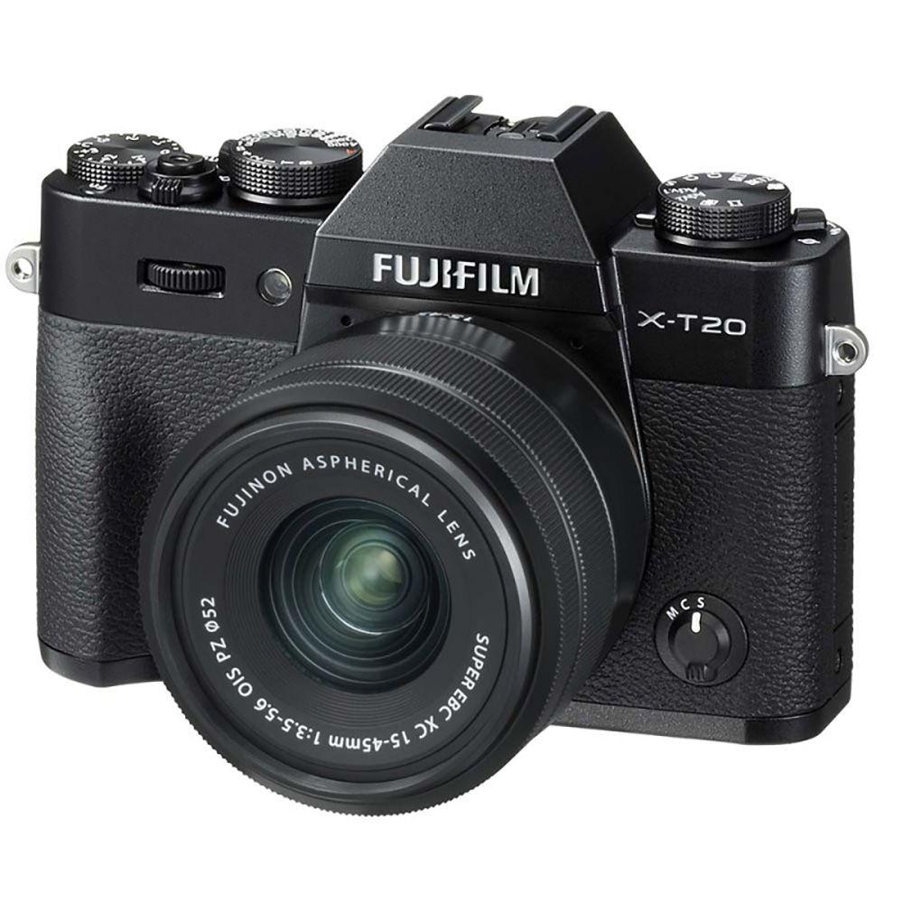Appareil photo Fujifilm XT20 + Objectif XC 15-45mm f/3.5-5.6 OIS PZ (camara.net)