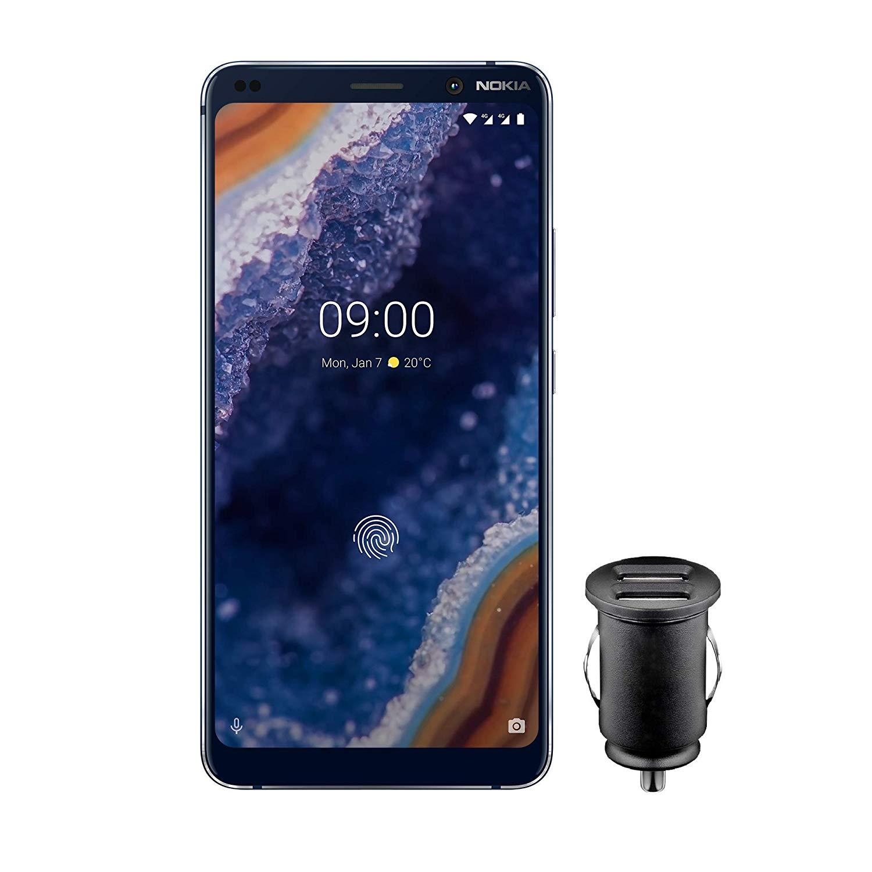Smartphone Nokia 9 PureView Dual SIM  + Chargeur pour voiture