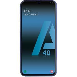 "Smartphone 5.9"" Samsung Galaxy A40 - full HD+, Exynos 7904, 4 Go de RAM, 64 Go, bleu"