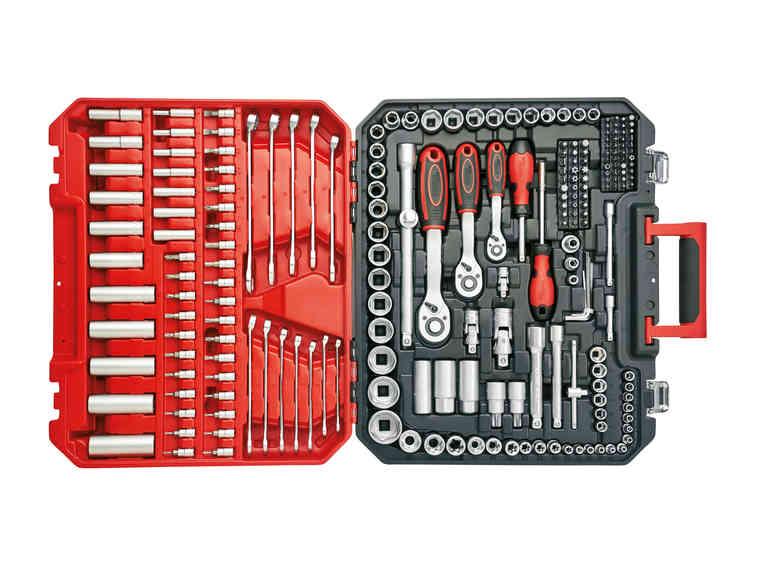 Coffret outils complet 216 pièces Powerfix