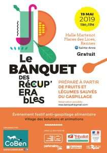 Repas gratuit : Banquet des Récupérables - Rennes (35)
