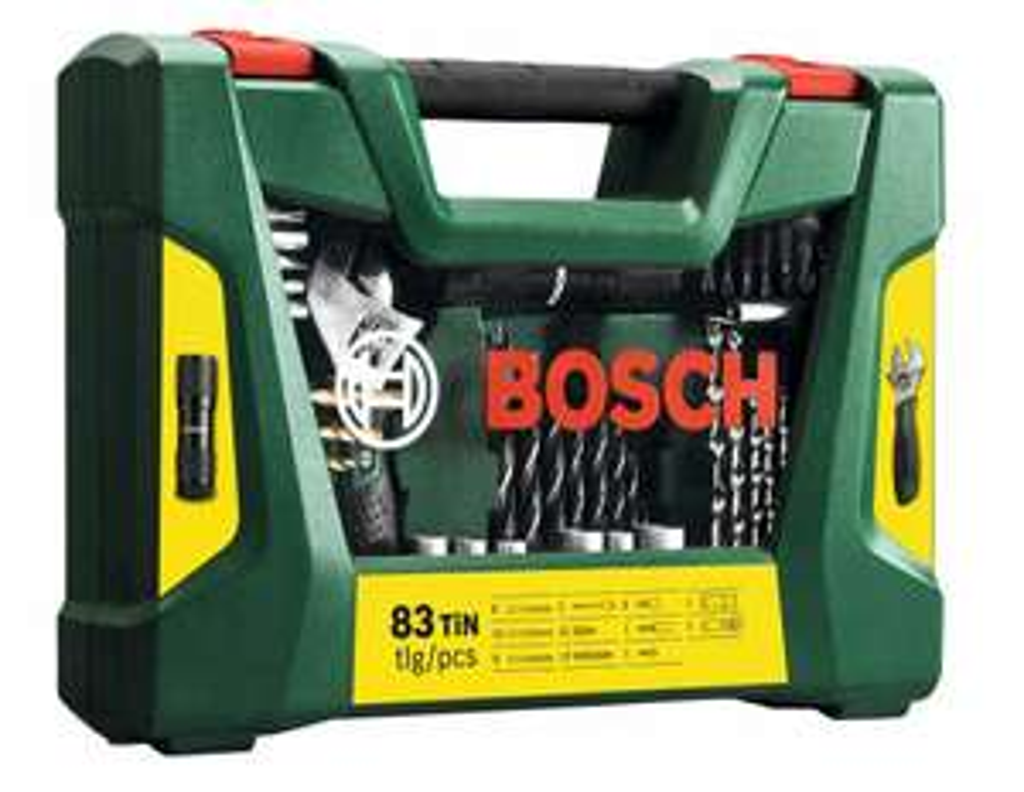 Coffret de 83 outils de perçage/vissage Bosch V-Line