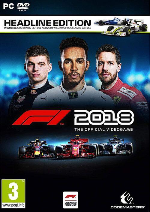Jeu F1 2018 sur PC - Headline Edition (Dématérialisé - Steam)