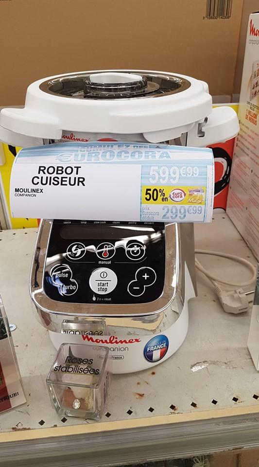 Robot Cuiseur Moulinex Companion (Via 50% sur Carte de Fidélité) - Neuvillette (51)