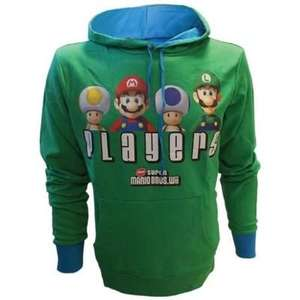 Sweat à capuche Mario Bros: Players - Taille XL