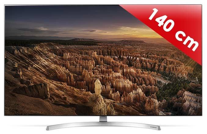 """TV 55"""" LG 55SK8500 - UHD 4K, 100 Hz, Dalle 10 bits"""