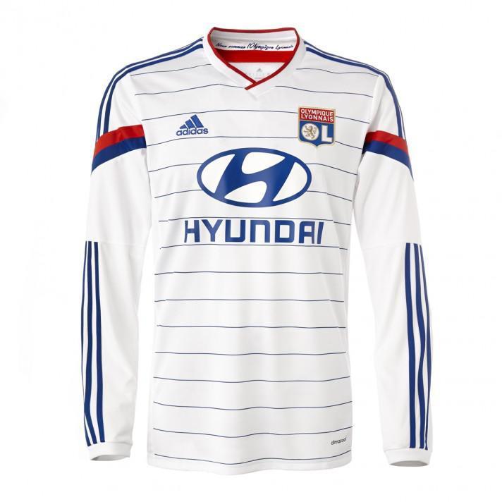 Maillot Domicile Olympique Lyonnais 14/15 version joueur - Taille L