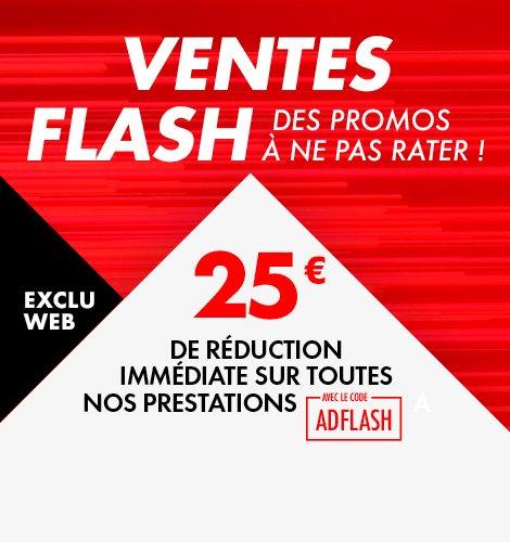 25€ de réduction sur toutes les prestations chez les garages AD
