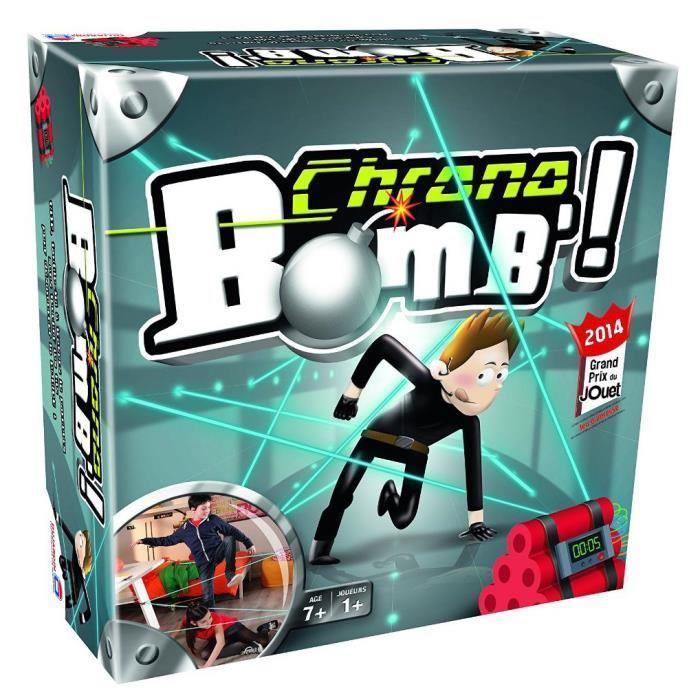 Un jeu de société Dujardin = Le deuxième jeu 100% remboursé - Ex : 2 Jeux Chrono Bomb + 10€ en bon d'achat pour (via ODR de 29.9€)