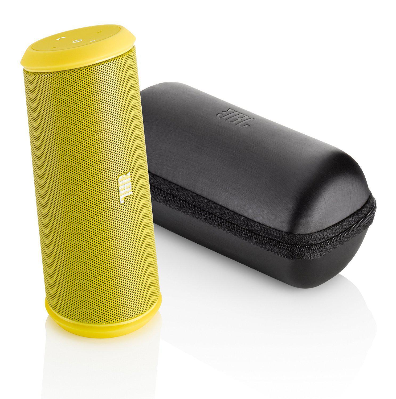 Enceinte Bluetooth et NFC JBL Flip 2 - couleur jaune.