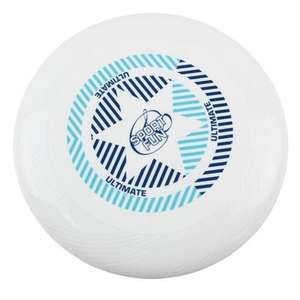 Frisbee Sport and fun Ultimate - Blanc, 175 g , 27cm (+0.35€ en SuperPoints)