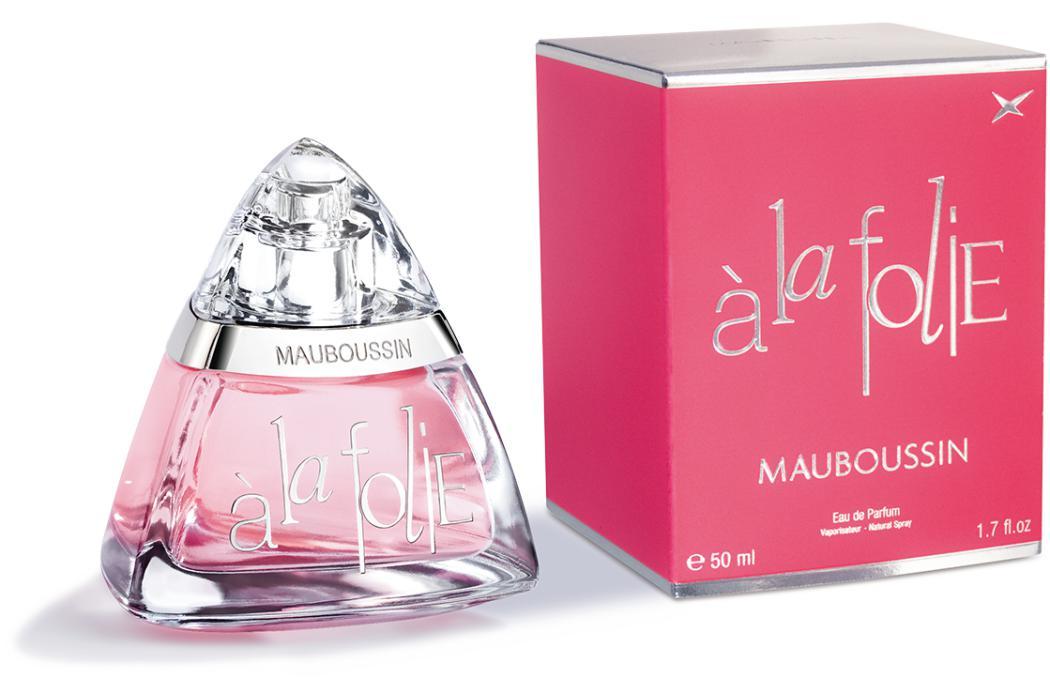 Sélection de parfums Mauboussin