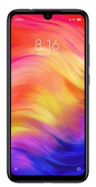"Smartphone 6.3"" Xiaomi Redmi Note 7 (Version Global) - Full HD+, 128 Go ROM, 4 Go RAM, 4G (B20 et B28), Noir"