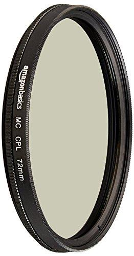 Sélection de Filtres en promotion - Ex: Filtre polarisant circulaire AmazonBasics - 72 mm