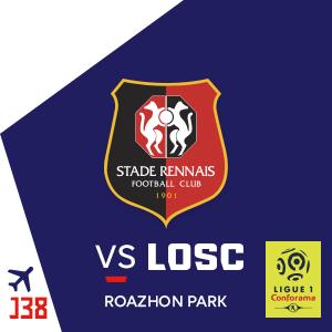 Place pour le match de Foot Rennes - Losc offerte au Roazhon Park (35)